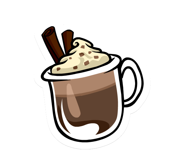 588x564 Hot Chocolate Clipart Penguin