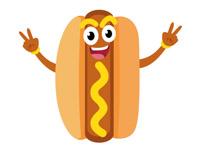 200x146 Free Hotdog Clipart