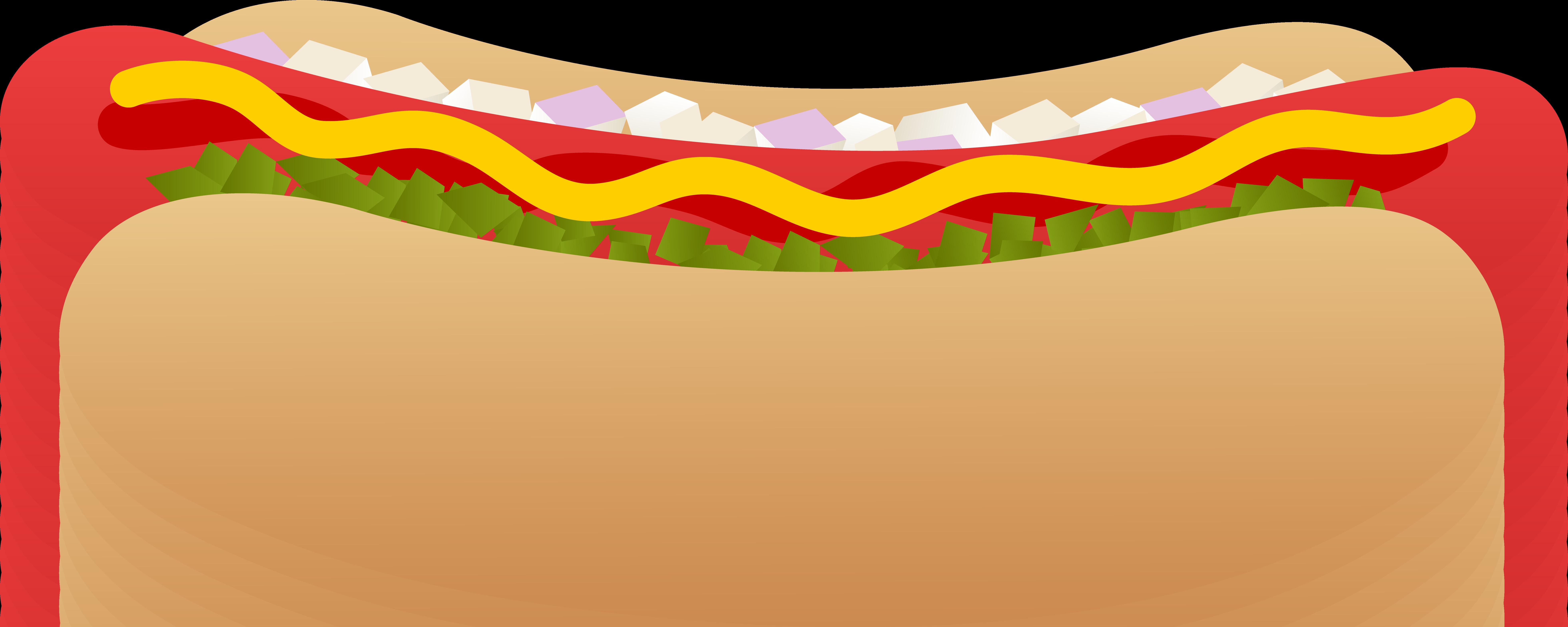 7846x3137 Hot Dog Clip Art Cliparts