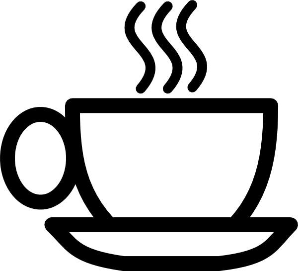 600x545 Coffee Cup Hot Cup Of Steamingffee Clip Art