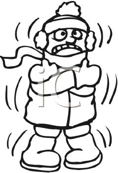 239x350 Cold Clipart Black And White
