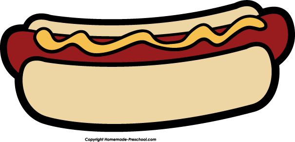 605x291 Hot Dog Clipart Black And White Free Images