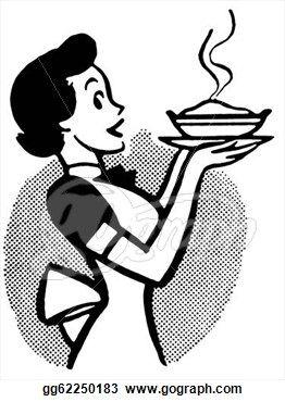 262x370 38 Best Clip Art Images Pictures, 1950s Kitchen