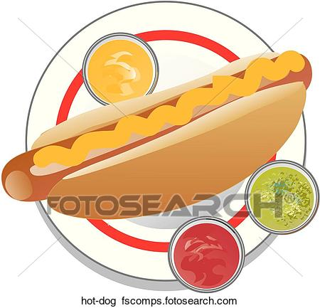 450x433 Clip Art Of Hot Dog Hot Dog