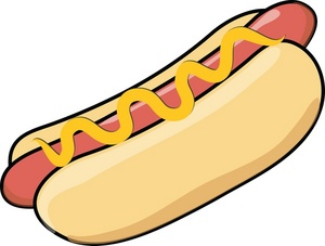 300x227 Hotdog Clipart Hot Dog