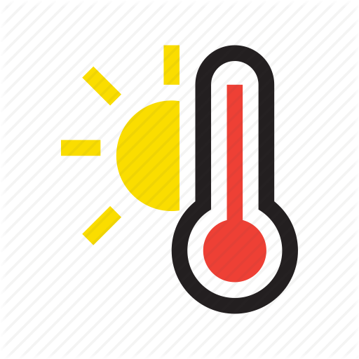 512x512 High, High Temperature, Hot, Temperature, Thermometer, Weather