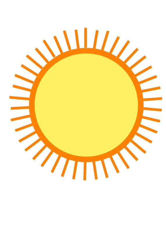 Hot Weather Clipart