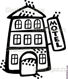 259x300 Hotels And Motels Vector Clip Art