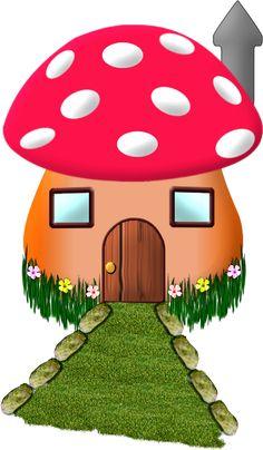 236x404 Cute Redwhite Polka Dot Mushrooms