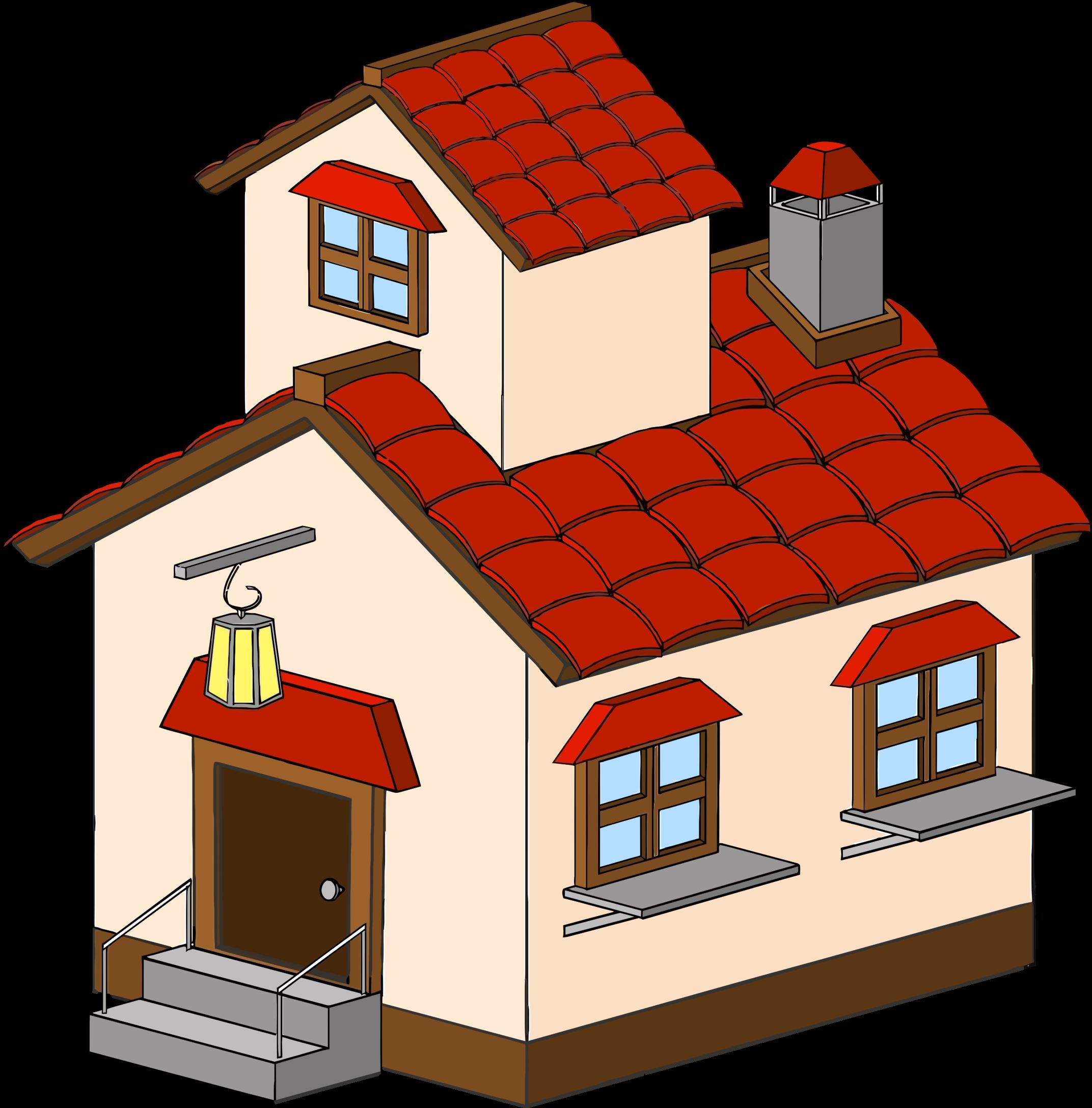 2144x2176 House Clip Art
