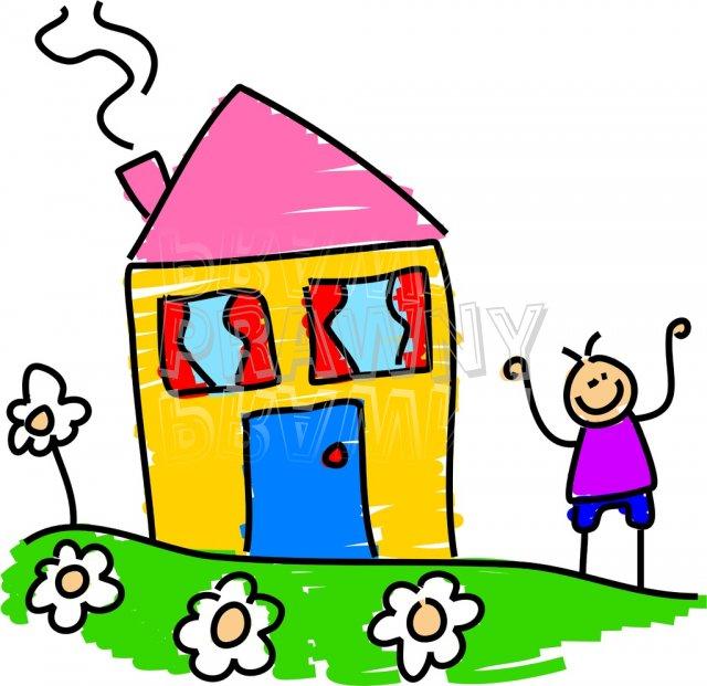 640x621 Kindergarten House Clipart, Explore Pictures