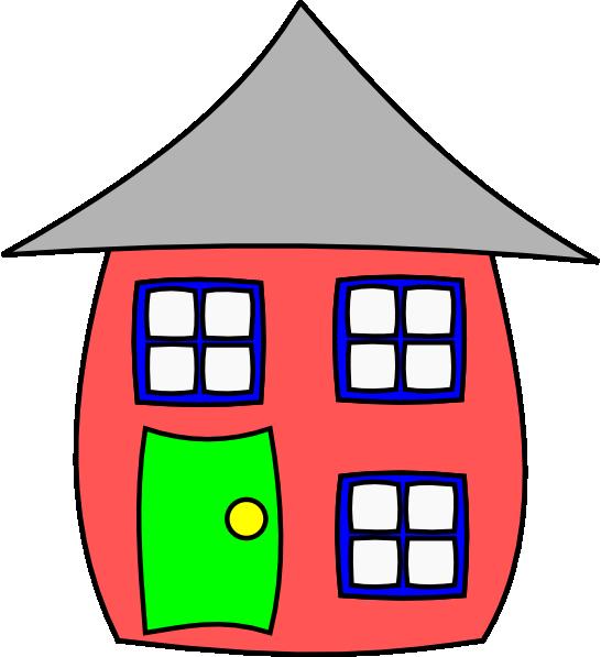 546x597 Cartoon House Clip Art