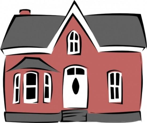 626x524 Clip Art 9 Cartoon House Image