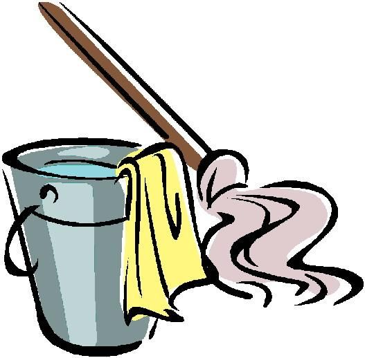 527x518 House Cleaning Clip Art