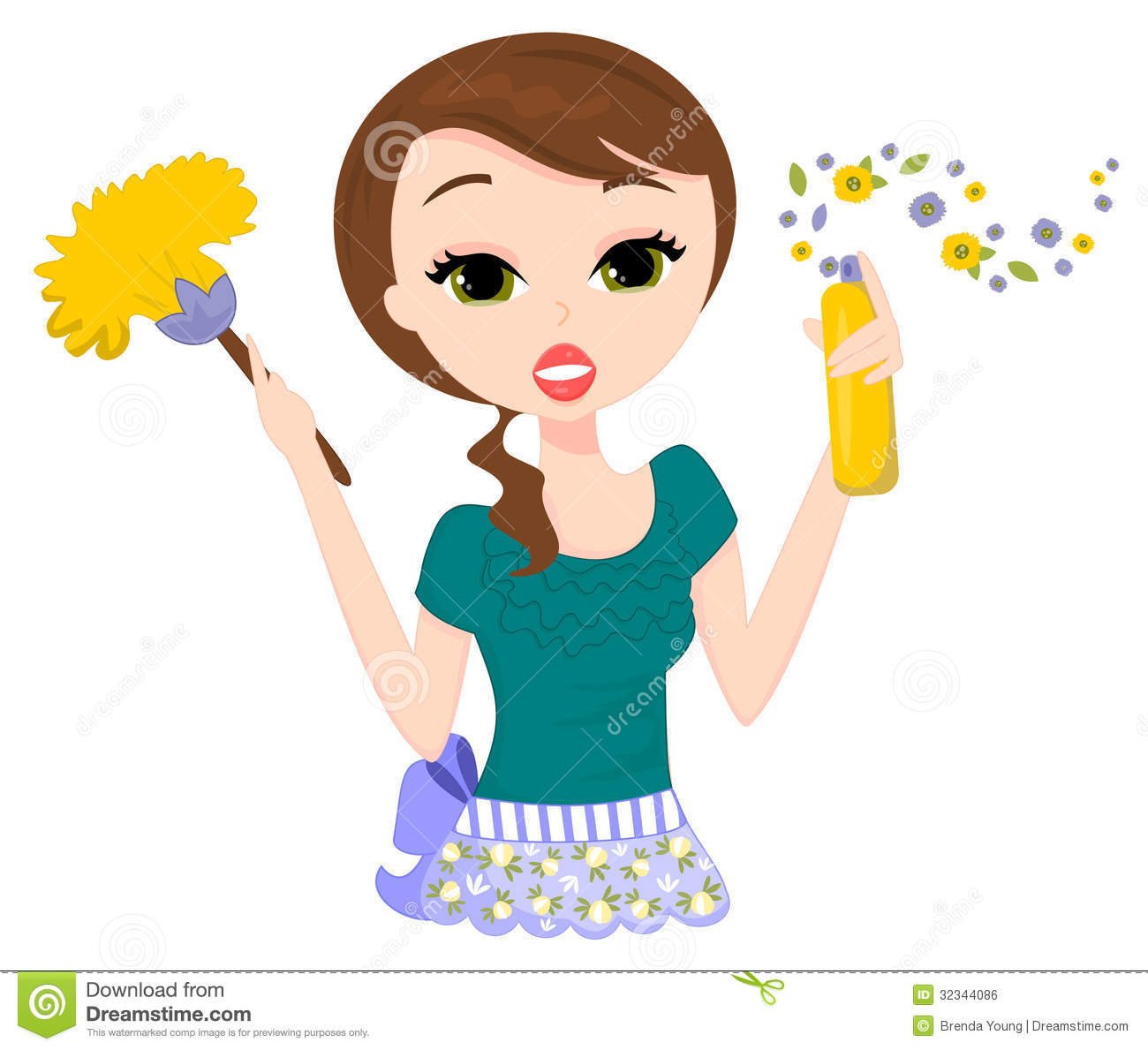 1300x1189 Women Clipart Cleaning House
