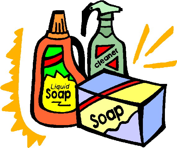 571x478 Cleaning Supplies Clipart