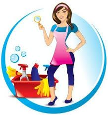 218x231 Cleaning Services Bubbles Business Card Cleaning Service