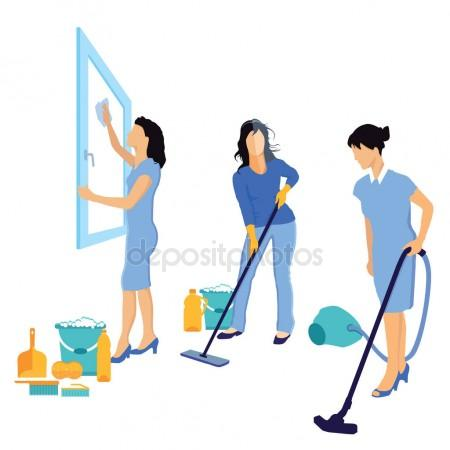 450x450 House Cleaning Stock Vectors, Royalty Free House Cleaning