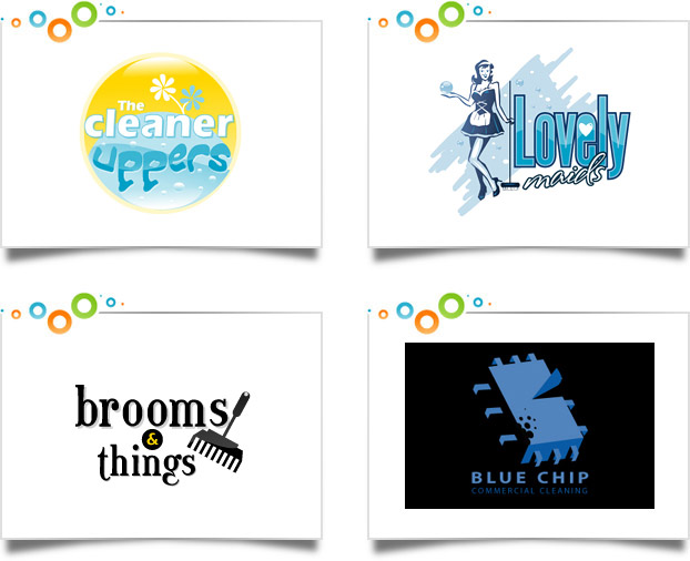 622x506 House Cleaning Logos