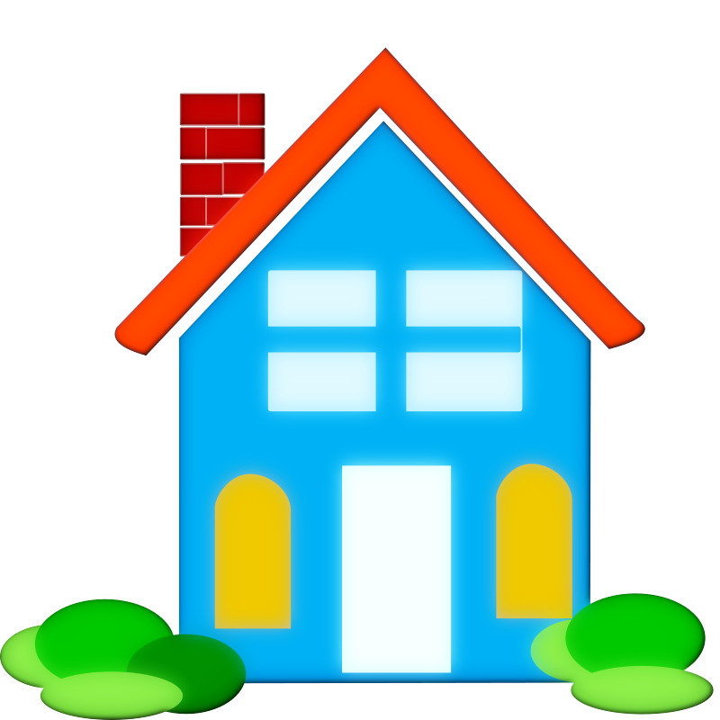 800x800 New House Clip Art Clipart Image