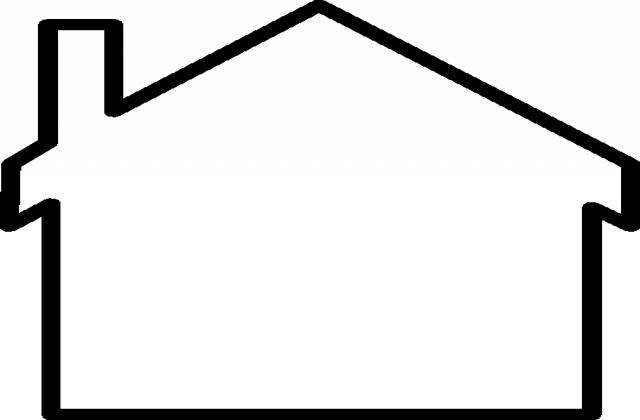 640x420 Black N White Clip Art
