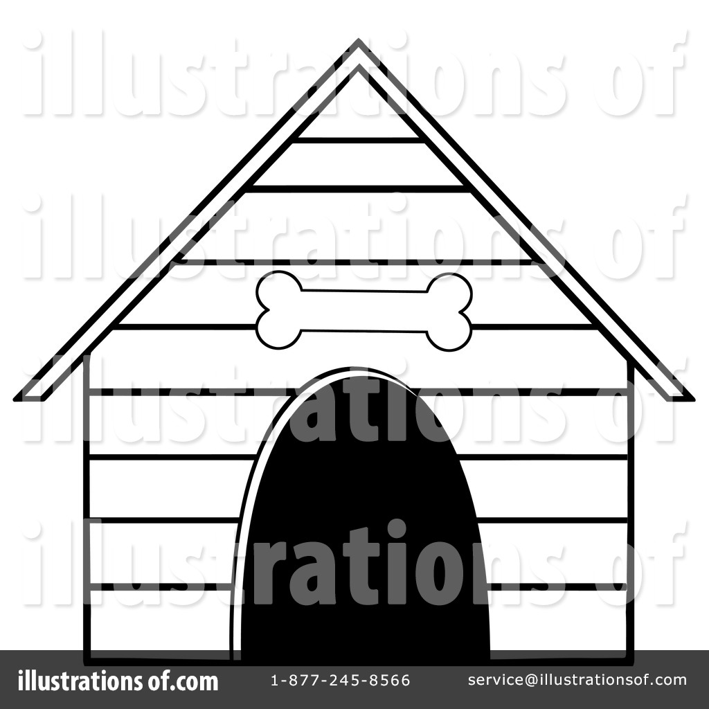 1024x1024 Dog Clipart Dog House Clipart