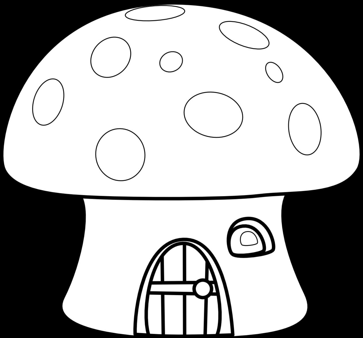 1264x1175 Mushroom Clip Art Clipart Photo 4