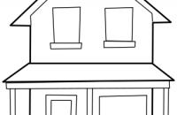 200x130 Marvellous Ideas House Clipart Black And White Clip Art Free