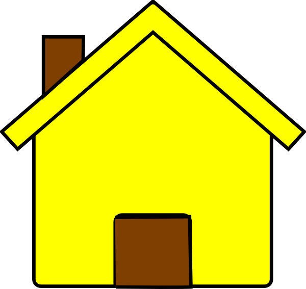 600x567 House Design Clipart