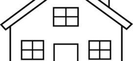 272x125 House Silhouette Clip Art