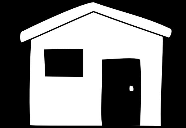 600x413 Black House Cliparts 180969