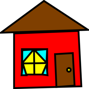 298x297 Free House Clipart