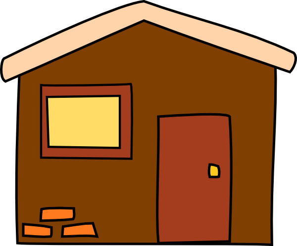 600x498 Free Simple House Clip Art