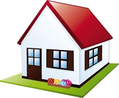 400x330 House Vector