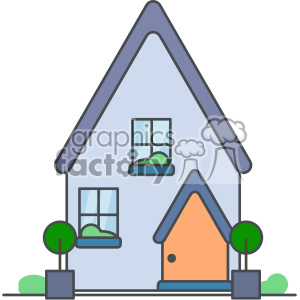 300x300 Royalty Free House Vector Clip Art Images 403905 Vector Clip Art