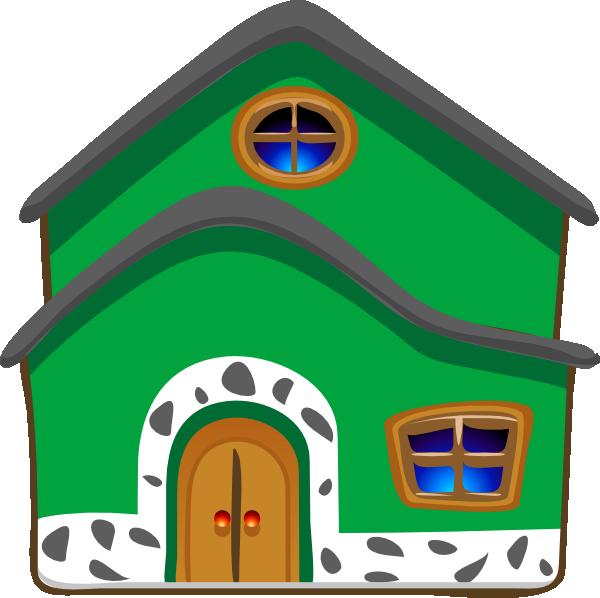 600x598 Cartoon House Clipart