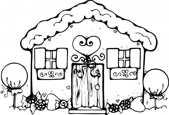 687x468 Coloring Pages Fancy House Coloring Pages Free Haunted Page