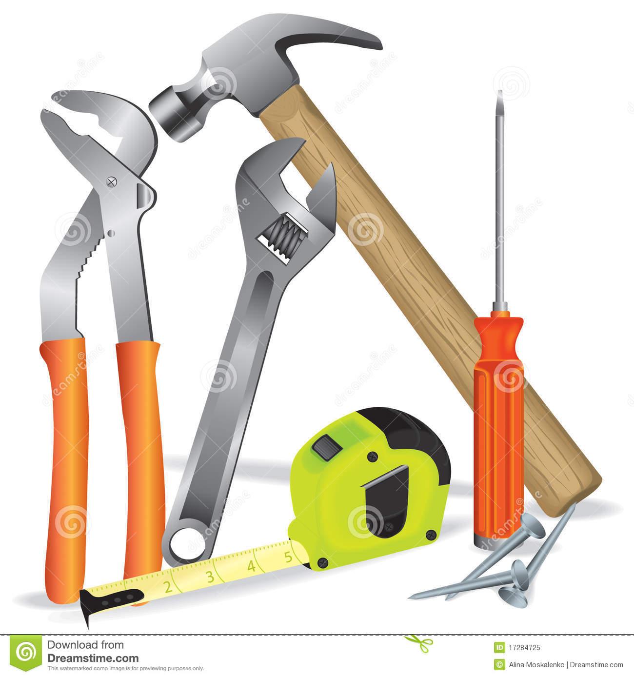 1300x1390 Building Tools Clipart