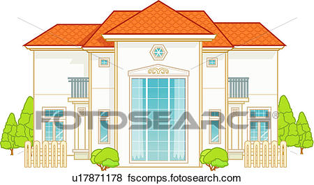 450x266 Stock Illustration Of Dwelling, Family, Architecture, Construction