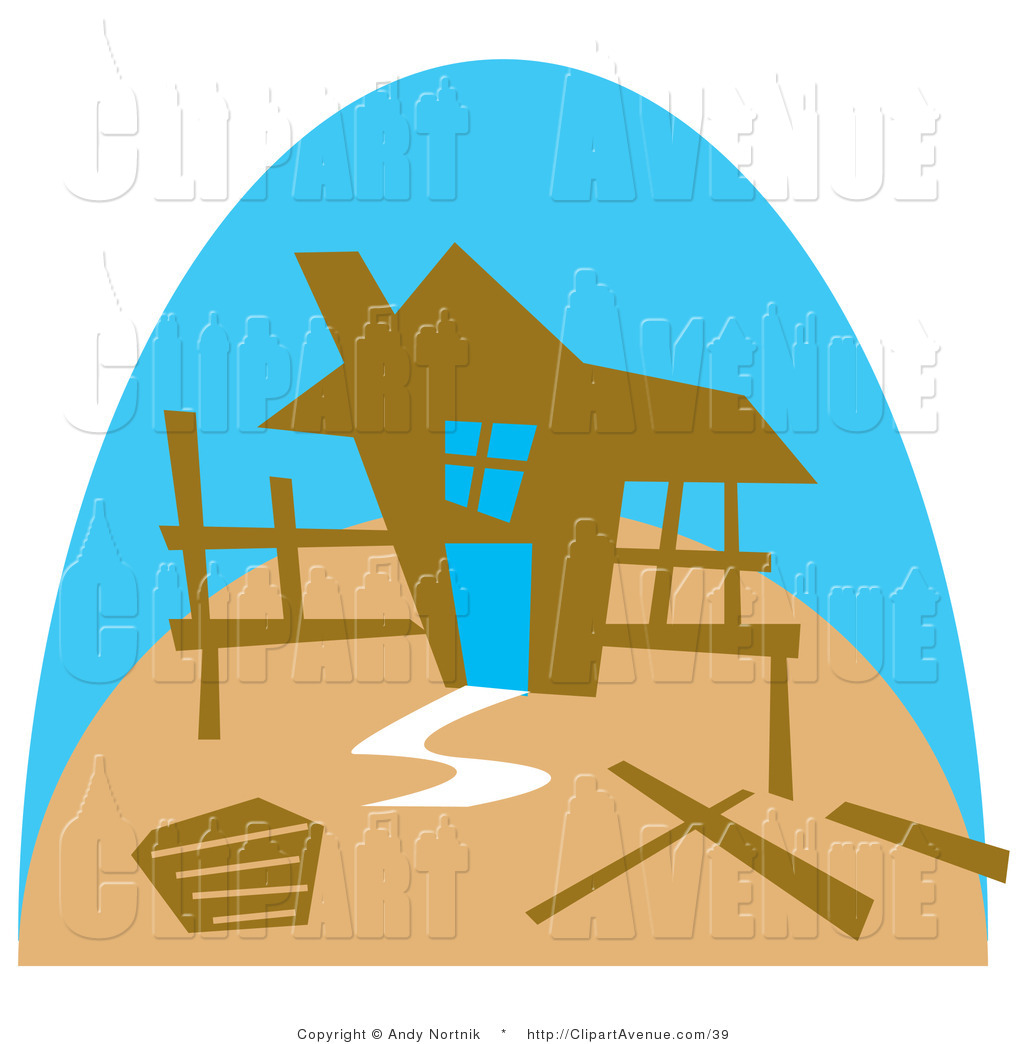 1024x1044 Avenue Vector Clipart Of The Framework Of A Stick Built House
