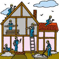 200x200 Building Construction Clipart 101 Clip Art