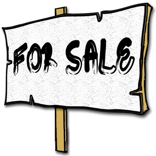 512x512 Clipart For Sale Sign