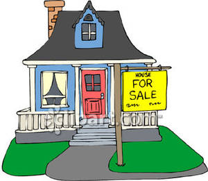 300x261 Villa Clipart Home For Sale