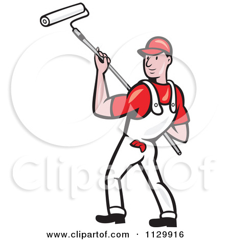450x470 Animated Painter Clipart