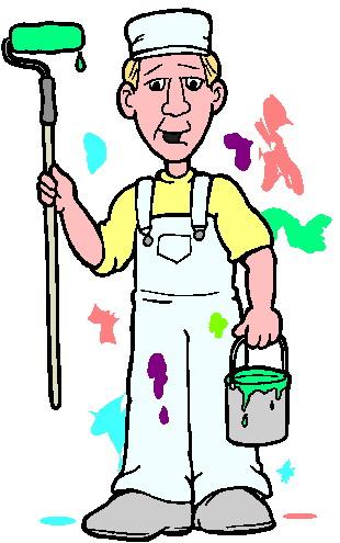 310x495 Painter Clipart