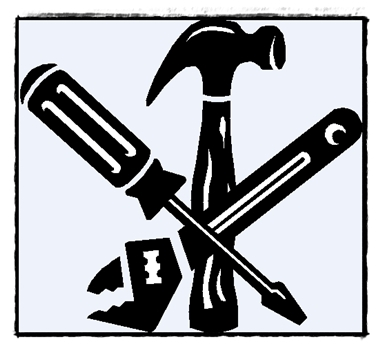 382x350 Clip Art Tools