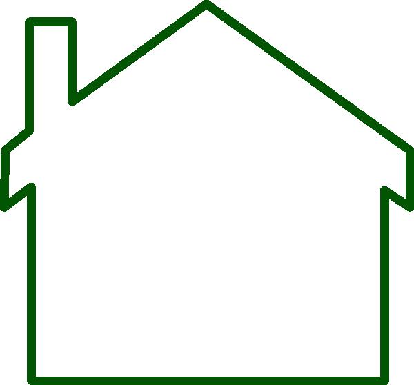 600x558 House Siloete Clip Art