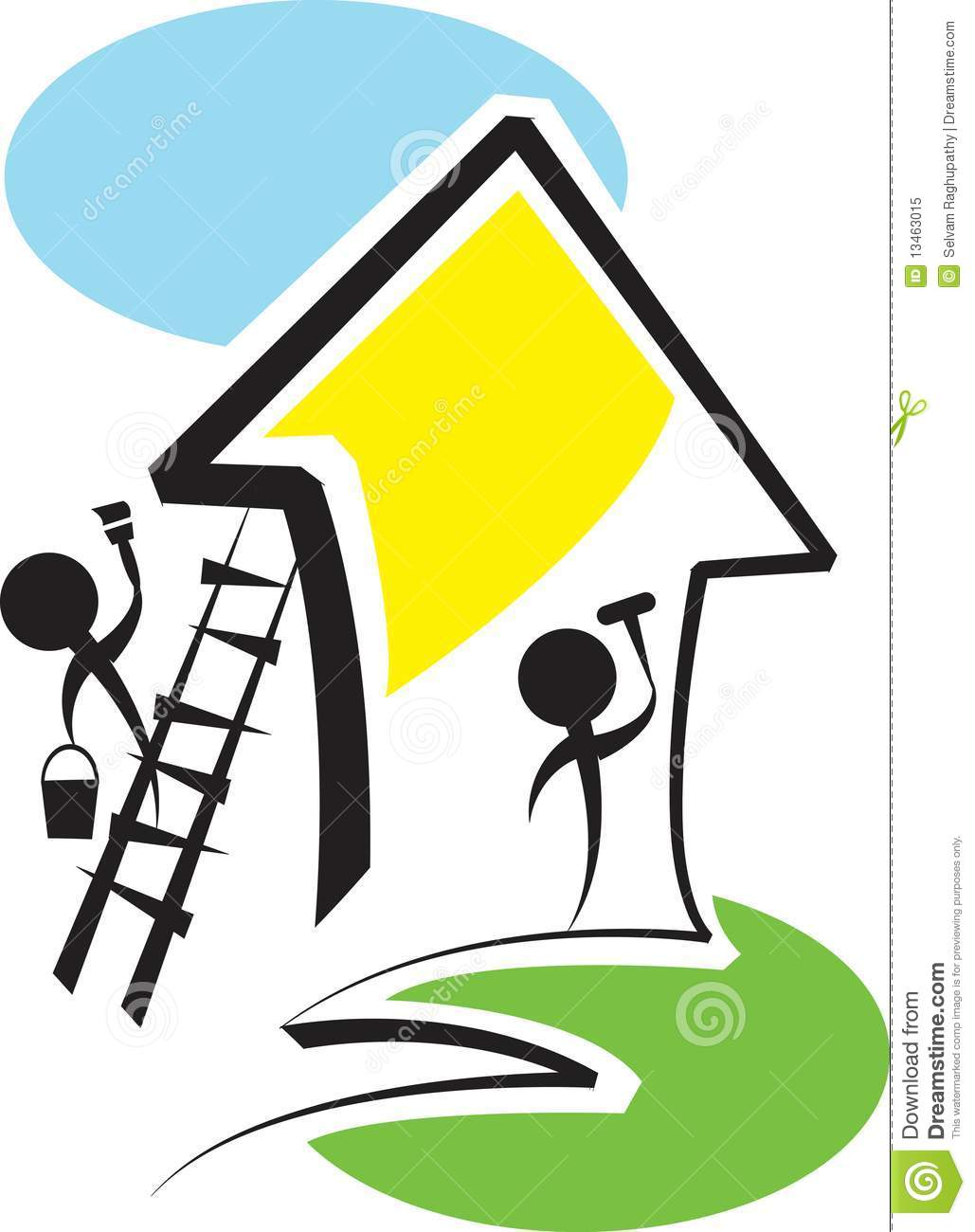 House Remodeling Clipart Free Download Best House