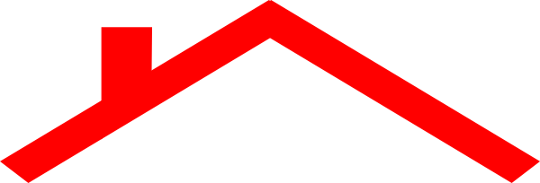 600x204 Roof Clipart Red Roof