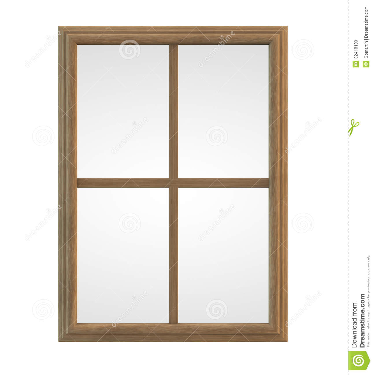 Clip Art: Basic Words: -ane Phonics: Pane Color | abcteach |Window Pane Clipart